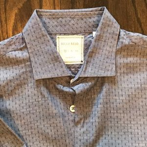 Billy Reid chambray detailed button down